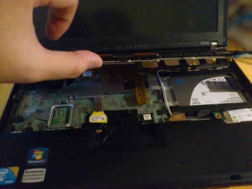 ThinkPad X201sを開けてみた