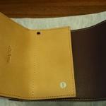 小さい財布ダンボーバージョン開いたところ